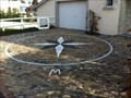 Image for Compass Rose in a Private Parking - Oberwil, BL, Switzerland