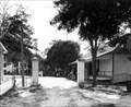 Image for The Cassadaga Entrance Pillars and Stevens Street - Cassadaga, Florida, USA
