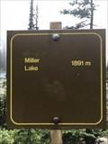 Image for 1891 m - Miller lake - Elevation signe - Revelstoke - BC - Canada