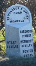 Image for Milestone - Otley Road, Weardly, Yorkshire, UK.