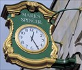 Image for Marks and Spencer Clock - Week Street, Maidstone, UK