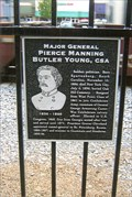 Image for Major General Pierce Manning Butler Young, CSA - Cartersville, GA