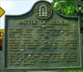Image for Battle of Resaca-GHM-155-2-Whitfield Co.