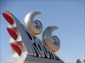Image for Route 66 Sculpture - Tucumcari, New Mexico, USA.