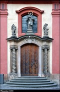 Image for Baroque portal of the St. John of Nepomuk Chapel / Barokni portál kaple Sv. Jana Nepomuckého - Prague Castle (Prague)