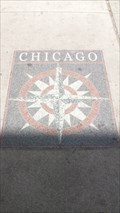 Image for Compass Rose @ SE corner of State St and  E Chicago Ave, Chicago IL