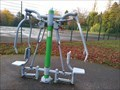 Image for Queen's Park Fitness Trail - Dresden, Longton, Stoke-on-Trent, Staffordshire, England, UK.