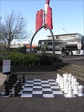 Image for Giant Chess Set. Great Lake Centre. Taupo. New Zealand.