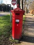 Image for Victorian Pillar Box - Lansdown Road - Queens Road, Cheltenham, Gloucestershire, UK