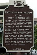 Image for FIRST - African American Church built in Wisconsin
