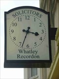 Image for Clock, Whatley Recordon Solicitors, Great Malvern, Worcestershire, England