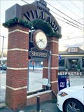 Image for Pawtuxet Village Shoppes clock - Pawtuxet/Cranston, Rhode Island USA