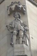 Image for Monarchs - King Edward VI On Side Of City Hall - Bradford, UK