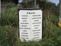 Image for A917 Waymarker Milestone - Crail, Fife.