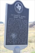 Image for Site of J.D. Earnest Ranch Stage Stand