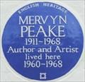 Image for Mervyn Peake - Drayton Gardens, London, UK