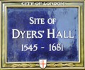 Image for Dyers' Hall - Upper Thames Street, London, UK
