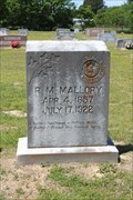 Image for R.M. Mallory - Sabine Cemetery - Smith County, TX