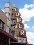 Image for Tower Theatre - Artistic Neon - Route 66 - Oklahoma City, Oklahoma, USA.