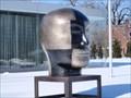 Image for Pinkerton by Jun Kaneko - Toledo Museum of Art Glass Pavilion - Toledo,Ohio