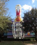 Image for Ginormous Bowling Pin - Pop Century - Lake Buena Vista, Florida, USA.