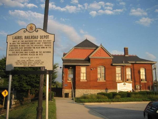 Laurel Railroad Depot