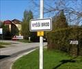 Image for Vyšší Brod Monastery and town & 121089 Vyšší Brod Asteroid - Vyšší Brod, Czech Republic