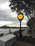 Image for Grand Floridan Boat Dock Clock - Lake Buena Vista, FL
