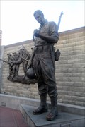 Image for The Mourning Soldier -  Atlantic City, NJ
