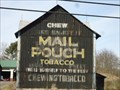 Image for Painted Barn with Mail Pouch Advertisement - Blanchard, Pennsylvania