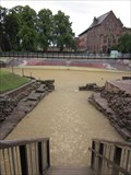 Image for Roman Amphitheater Mural, Pepper Street, Chester, Wales, UK