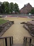 Image for Roman Amphitheater Mural, Pepper Street, Chester, Wales, UK