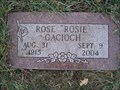 "Image for Rose ""Rosie"" Gacioch"