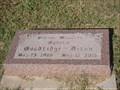 Image for 106 - Ophelia Goodridge-Dixon  - Trice Hill Cemetery - OKC, OK