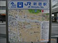 Image for Shinjuku Station South Map - Tokyo, JAPAN