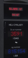 Image for Counting display for bicycles - Kopenhagen - Denmark