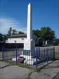 Image for Marshall War Memorial - Marshall, Saskatchewan