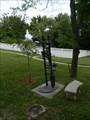 Image for Boys on Ladder - Warrensburg, Mo.