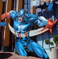 Image for Captain America - Satellite Oddity - Orlando, Florida, USA.