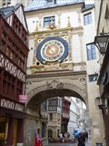 Image for Gros-Horloge et fontaine - Rouen, France
