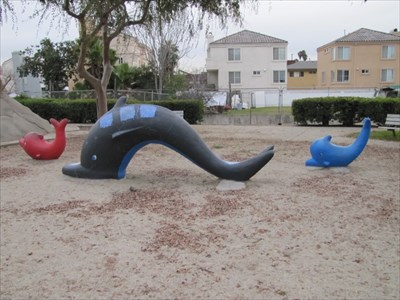 Monster Park Dolphins, San Gabriel, CA