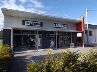 The Bait and Tackle shop, next to Spirit Filled Designs surfboard manufacturer.Gordon Street, Port Macquarie.0814, Sunday, 22 October, 2017