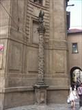 Image for Vinicní sloup se sochou sv. Václava / Vineyard column with statue of St. Wenceslas, Praha, Czech republic