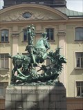 Image for The statue of Sankt Goran and the dragon - Stockholm, Sweden