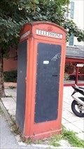 Image for Cabine Téléphonique Rouge - Chamonix, France