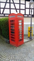 Image for Red Telephone Box - Vallendar, Rhineland-Palatinate, Germany