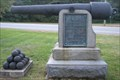 Image for An old cannon memorial