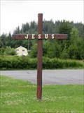 Image for Laclede Community Church Cross - Laclade, Idaho