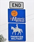 Image for Frontier Military - Historic Byway End - Kansas, USA.