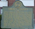 Image for Liberty County Historical Marker